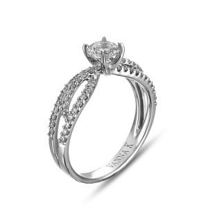 18K White Gold Vanna K Solea Engagement Ring