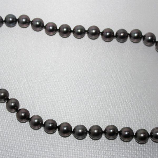 10mm Tahitian Black Pearl Strand