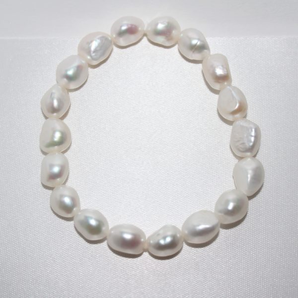 8-9mm Fresh Water Baroque Pearl Bracelet