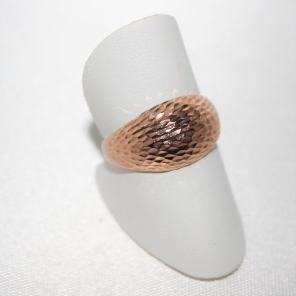 14K Rose Gold Estate Domed Ring