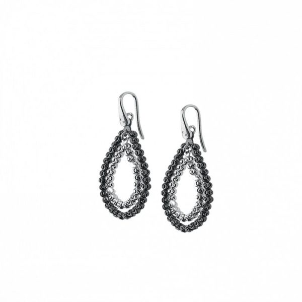 Officina Bernardi Sterling Silver Teardrop Earrings
