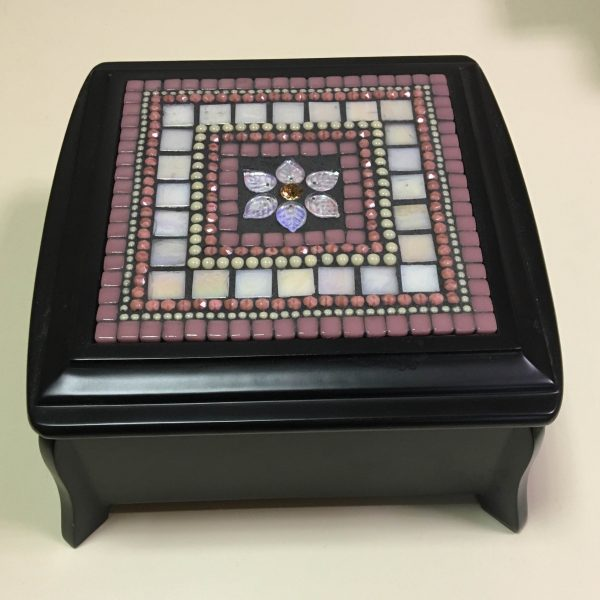 Iris Flower Jewelry Box