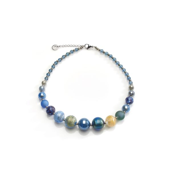 Certosa Necklace In Blue
