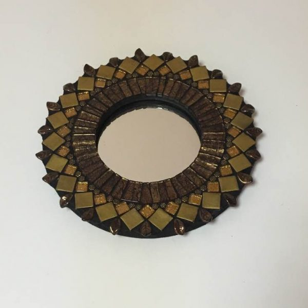 Ginger Round Wall Mirror