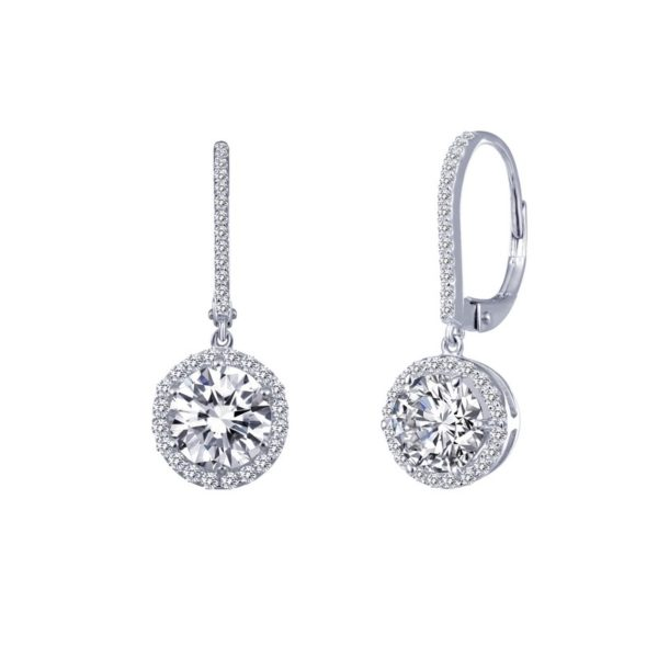 Sterling Silver Classic Drop Earrings