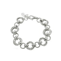 Sterling Silver Frederic Duclos Link Bracelet
