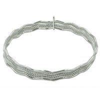Sterling Silver Frederic Duclos Bangles